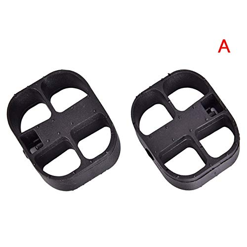 JINSUO Moonlight Star Bike Pedals-1pair Bike Accessories Bicycle Pedals Replacement Pedal for Baby Child Bicycle and Trike Tricycle Bike Baby Pedal Cycling Tool (Color : A)
