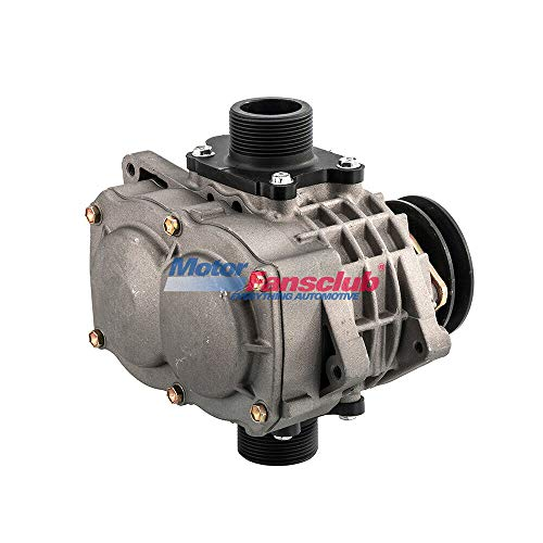 Motorfansclub Remanufactured Roots Supercharger Compressor Blower Booster Turbine Fit For Compatible With 1.0-2.2L AMR500 Universal