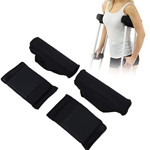 Almohadillas de muleta, almohadillas de agarre de muleta Axila y mango Muletas cómodas Muletas de tapicería Almohadillas de la manija Tapicería para muletas Accesorios contra la fricción