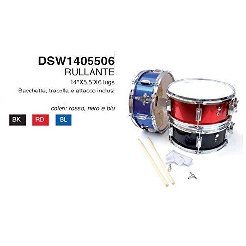 Rullante Mercury economico 14x5,5 blu banda o batteria completo dsw14055