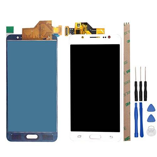 West Dragon LCD Touchscreen für Samsung Galaxy J5 2016 Display Ersatz Bildschirm Komplettes mit Werkzeuge für Samsung J5 2016 J510F (weiß)