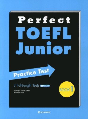 Perfect TOEFL Junior Practice Test. Book 1 (Korean edition)