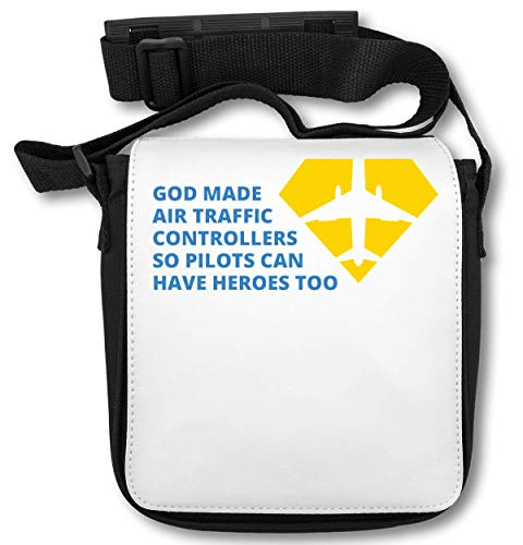God Made Air Traffic Controllers So Pilots Can Have Heroes Too Schultertasche