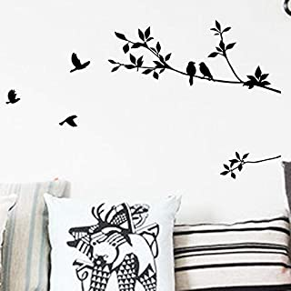 Simple Style Branches And Birds Wall Stickers Home Decoration Art Wall PostersFor Livingroom Mural
