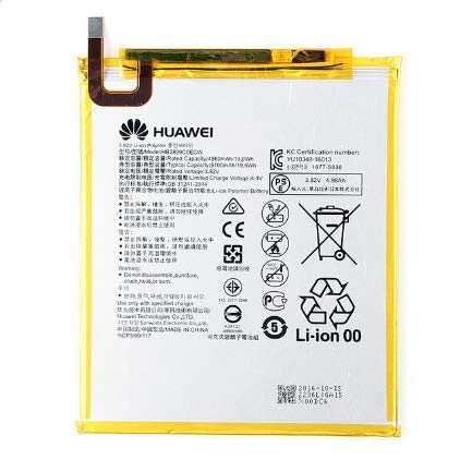 TPC - Batteria Originale Huawei HB2899C0ECW per Mediapad M3 TD-LTE, BTV-DL09, Bulk + Regalo