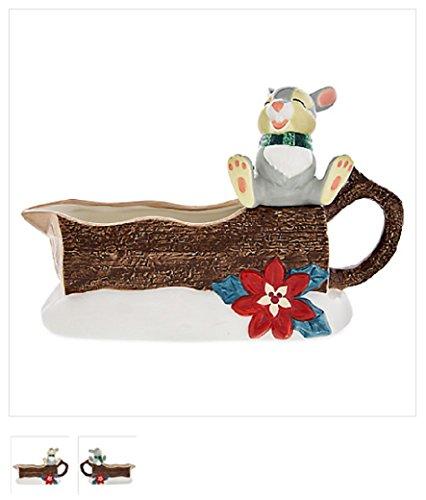 Disney Bambi - Thumper the Rabbit - Happy Holidays Ceramic Gravy Boat