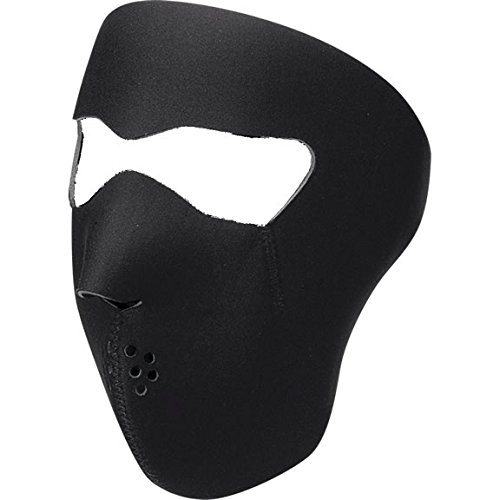 Full Face Mask One Size Solid Black–WNFM114–Zan Headgear 25030009(WNFM114)