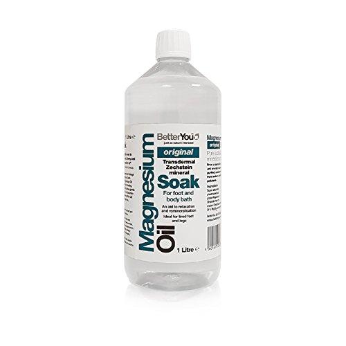 BetterYou Magnesium Oil Soak Magnesiumchloridlösung 1000ml
