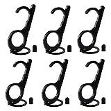 [6 Pacchi] Apriporta Senza Contatto, KarDition EDC Portatile Chiudiport [No-touch Igiene] [Mantieni le tue mani pulite] Multiuso Clean Key