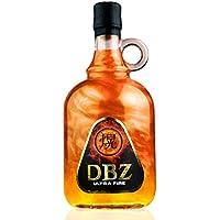 DBZ ULTRAFIRE-GOLD   CON EFECTOS DE FUEGO   Base de vodka con sabor a tofe 700 ml