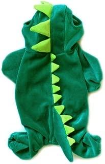 ARJOSA Puppy Dog Dinosaur Dragon Costume Hoodie Jumpsuit Jumper Pet Winter Coat Warm Clothes