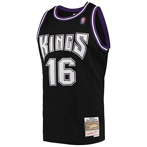 Camiseta de baloncesto al aire libre NO.16 jugador Jersey de secado rápido sin mangas Chalecos uniforme negro