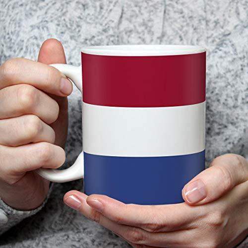 Geschenk Tasse mit Flagge Niederlande Länder Flaggen Geburtstagsgeschenk Souvenir Netherlands für Reiseliebhaber Frauen Männer