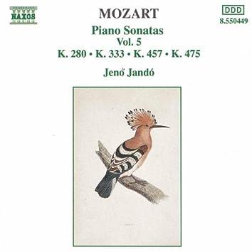 MOZART: Piano Sonatas, Vol. 5 (Pano Sonatas Nos 2, 13 and 14 / Fantasia, K. 475)