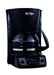 Mr. Coffee Simple Brew Programmable Coffee Maker