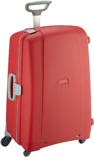 Samsonite Aeris Spinner L Suitcase Luggage, 75 cm, 87.5 Litre, Red (Red)