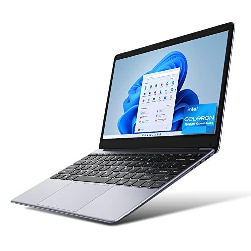 [Upgrade] CHUWI HeroBook Pro 14.1 inch Laptop PC, Intel Gemini-Lake N4020 Quad-Core, 1920x1080 FHD IPS Display Ultra Slim Laptop Computer, 8G RAM 256GB SSD, Windows 10(Support to Update Win 11)
