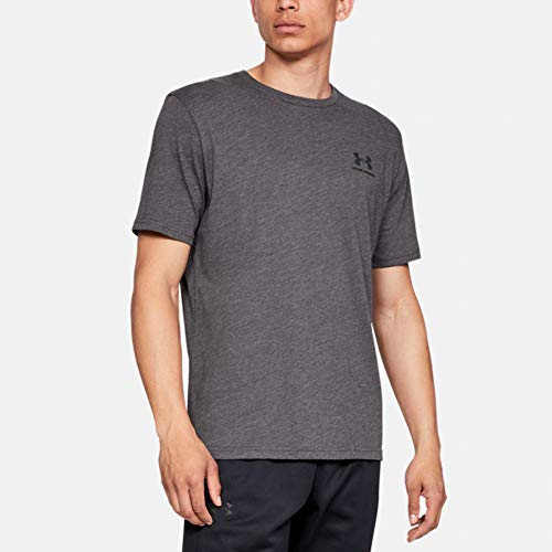 Under Armour Herren SPORTSTYLE LEFT CHEST SS Komfortables T-shirt, Grau (Grey/019), Medium