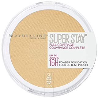 Maybelline New York Super Stay Full Coverage Powder Foundation Makeup, 332 Golden Caramel, 1 Count (B07GX6CZ53)   Amazon price tracker / tracking, Amazon price history charts, Amazon price watches, Amazon price drop alerts