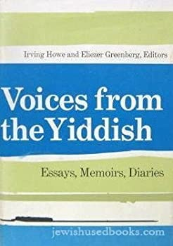 Voices from the Yiddish 0472464272 Book Cover