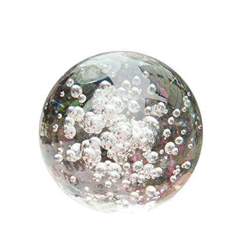 YSoutstripdu Transparente Kugel Faux Kristallkugel Wasser Brunnen Bubble Ball Feng Shui Glaskugeln 40mm