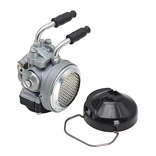 Blesiya Carburador de Motocicleta Carb, Suministros de Repuesto funcionales Dellorto Sha 15/15 Mini Dirt Pocket Motor Scooter 1 Juego de