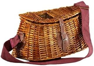 vintage creel fishing basket