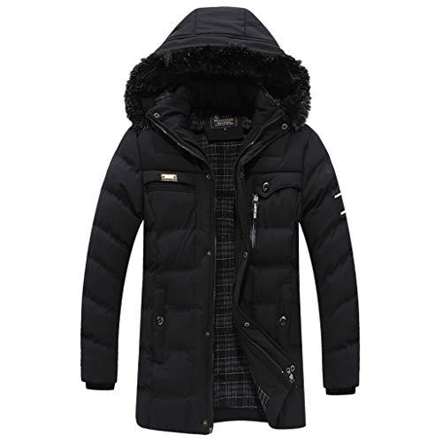 MIS1950s Snowboarding Coat Men's Fleece Mountain Jacket Winter Windproof Warm Ski Jackets with Multi-Pockets