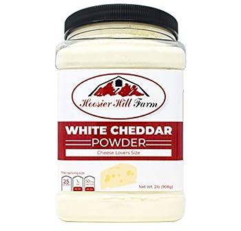 Hoosier Hill Farm White Cheddar Cheese Powder Cheese Lovers 2 Pound