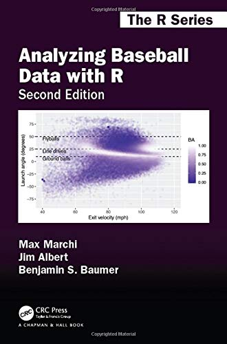 Analyzing Baseball Data with R, Second Edition (Chapman & Hall/CRC: The R)