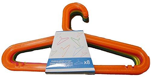 Protenrop Percha Infantil, 8 Unidades, Color Multicolor