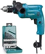 MAKITA M0801BX2 Impact Drill 13 mm with 13 Pcs Metal/Wood Drill BIT Set