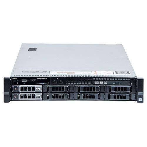 Dell POWEREDGE R720 8xLFF-2xIntel Xeon OctaCore Processor E5-2680, 128GB DDR3ECC Reg, HDD 4x4TB SAS 3,5', H710 Raid Ctrl , RACK 2U, 2xLAN1000, 2xPSU(Reacondicionado Certificado)