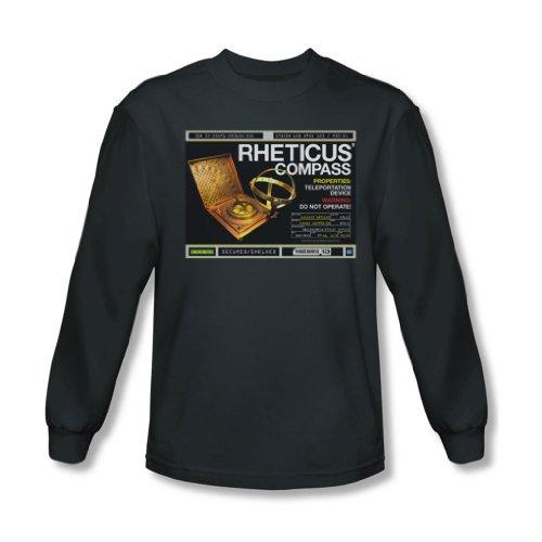 Warehouse 13 - Rheticus Boussole shirt à manches longues pour homme au charbon -, Medium, Charcoal