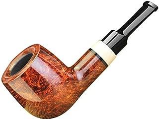 FULUSHOU Mediterranean Briar Wood Tobacco Pipe,Exquisite And Mini Tobacco Pipe