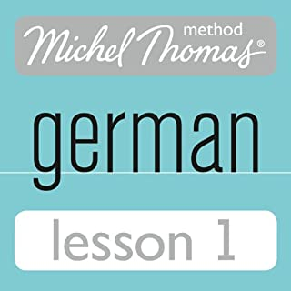 Michel Thomas Beginner German, Lesson 1 cover art