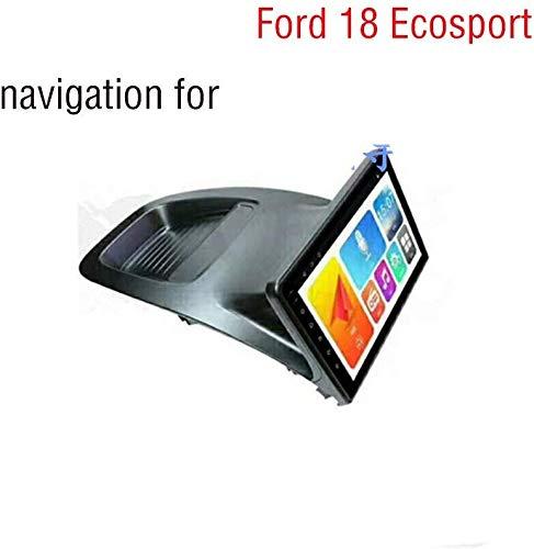 WY-CAR Navigatore GPS per Radio Stereo Android 8.1 da 10,2 Pollici con autoradio per Ford Ecosport (2018) Touch Screen Capacitivo, WiFi, BT, SWC, Mirror Link, Multifunzione (2G + 32G)