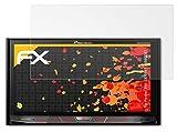 atFoliX Película Protectora Compatible con Pioneer AVH-X8700BT / X8800BT Lámina Protectora de Pantalla, antirreflejos y amortiguadores FX Protector Película (2X)