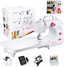 StitchTech Portable Multi-Function Home Sewing Machine with an Extension Table, 16 Built-in Stitches, and 42 PCs Sewing Kit