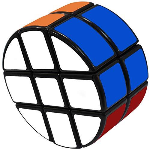 Maomaoyu Cubo Magico Cilindro 2x3x3 Crcuito Magic Speed Cube Nios Juguetes Educativos Negro