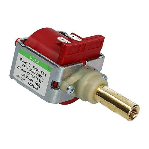 LUTH Premium Profi Parts pomp geschikt voor Ulka EX4 230V 48W koffiemachines koffiezetapparaat Jura Delonghi Saeco