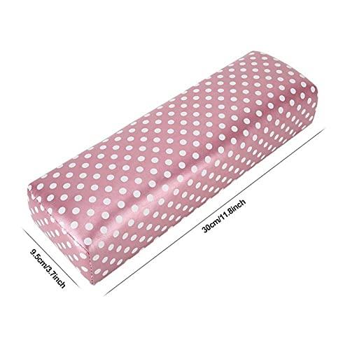 Beauty Nail Art Hand Pillow Nail Art Pillow Cojín Cómodo para manicura para salón de uñas para brazo para artista de uñas(Dot hand pillow)