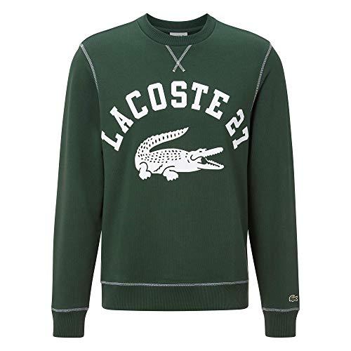 Lacoste Herren SH0062 Pullover, grün, XXL