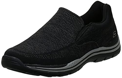 Skechers Men's Expected Gomel Slip-On Loafer, Black, 10.5 M US