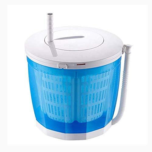Lavadoras de ropa Lavadora Mini, deshidratador Manual de Acampar Lavadora pequeña, la Limpieza Manual, de Gran Capacidad de 2 litros, de Limpieza