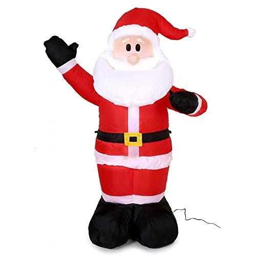 Di&Gi Babbo Natale Gonfiabile Cm. 150 con Gonfiatore Elettrico