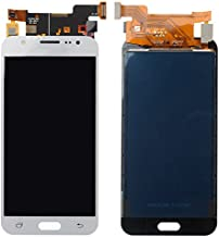 BisLinks for Samsung Galaxy J5 2015 LCD Display Touch Screen Digitizer White J500 J500FN Replacement Part
