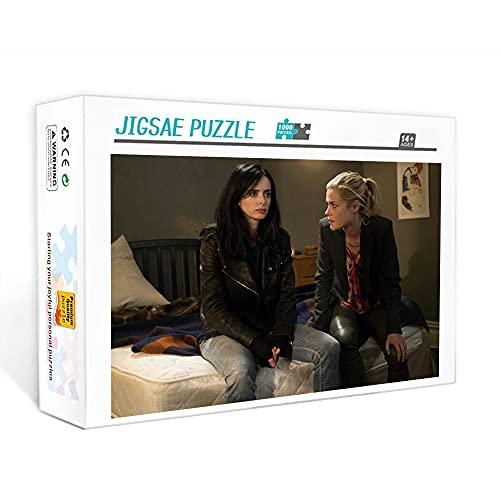 300 piezas de rompecabezas para adultos Jessica Jones Jigsaw toy star poster decoración de la pared del hogar regalo 15x10 pulgadas Adult Jigsaw