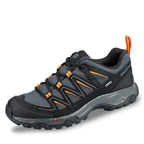 Salomon L40780100 Arcalo 2 Ortholite - Botas de senderismo para hombre (Gore-TEX, malla de nailon), color Azul, talla 44 2/3 EU
