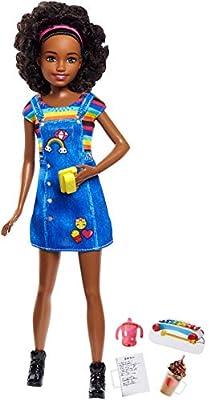Barbie Babysitter Coffeee Fashion Doll Playset